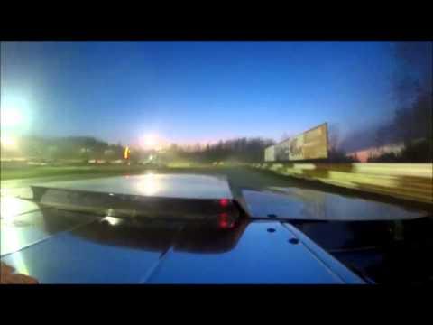 Bret Belden Utica Rome Speedway incar action 05/11/14