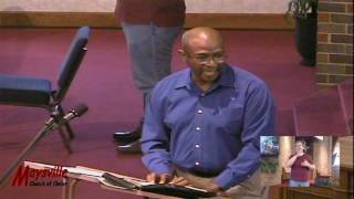 Instrumental Music in Worship, Alvin Alston, June 28, 2017