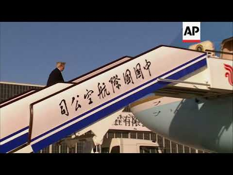 Trump Leaves China For APEC Summit