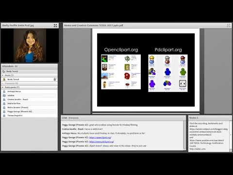 Creative Commons and Public Domain Content for Digital Projects, American TESOL Webinar