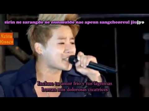 XIAH Junsu You are so Beautiful LIVE   Ost Sub español romanizacion
