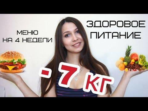 Здоровое питание/Меню на 4 недели: - 7 кг спустя 30 дней/Как сохранить вес