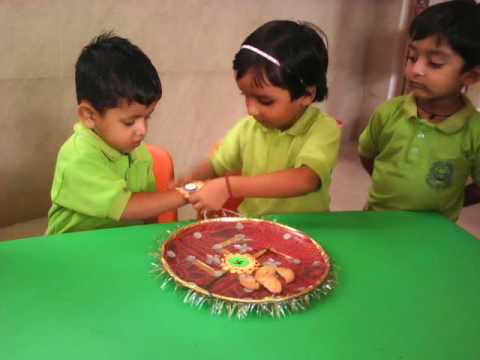 Raksha bandhan Celebration in Kindergarten