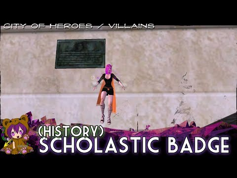 City Of Heroes/Villains - Scholastic Badge