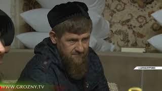 Рамзан Кадыров совершил ифтар в доме муфтия Чечни