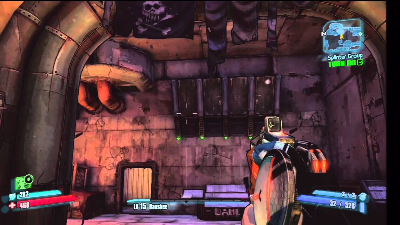 Borderlands 2 - Bloodshot Stronghold Puzzle Guide ...