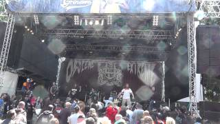 Gore and Carnage live @ Obscene Extreme 2015