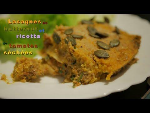 lasagnes-de-courge-butternut-et-ricotta-de-tomates-séchées-[vegan---vegane]
