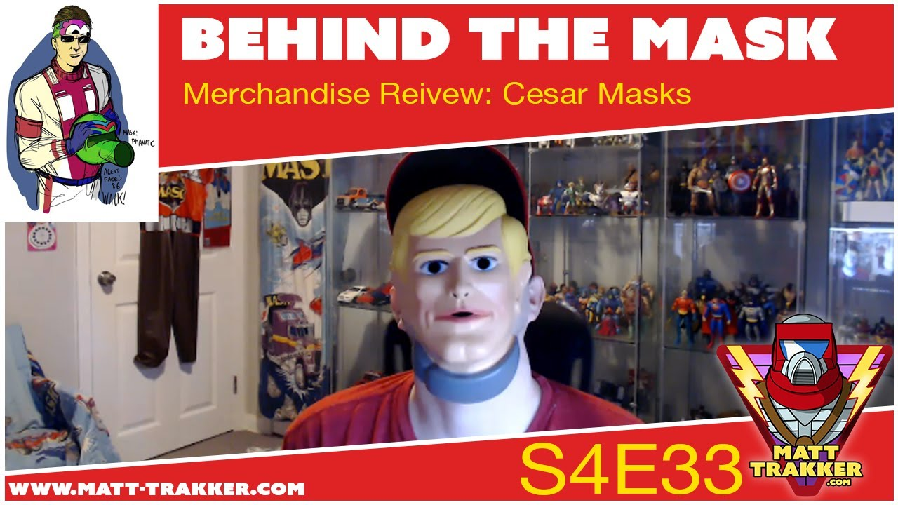 Merchandise Review: Cesar Masks - S4E33