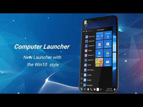 Computer launcher PRO 2019 for Win 10 themes - Apps on
