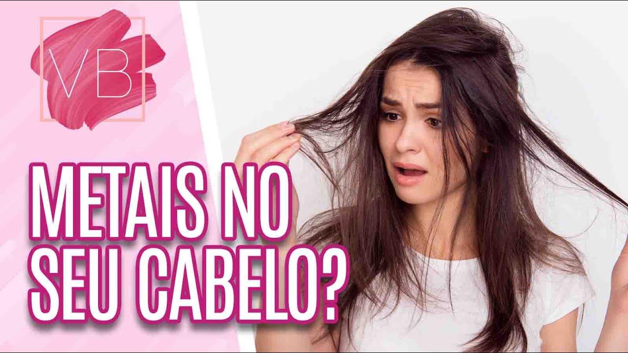 Metais no cabelo: riscos, consequências e dicas de como remover - Você Bonita (03/08/21)