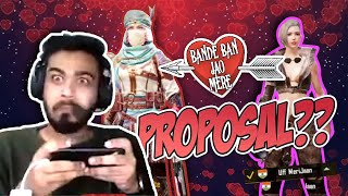 A Girl PROPOSED me on STREAM 😳 || PUBG MOBILE || 8bit MAMBA
