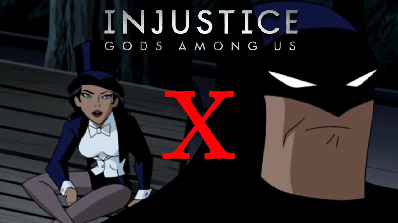 Batman x Zatanna - Injustice: Gods Among Us - YouTube