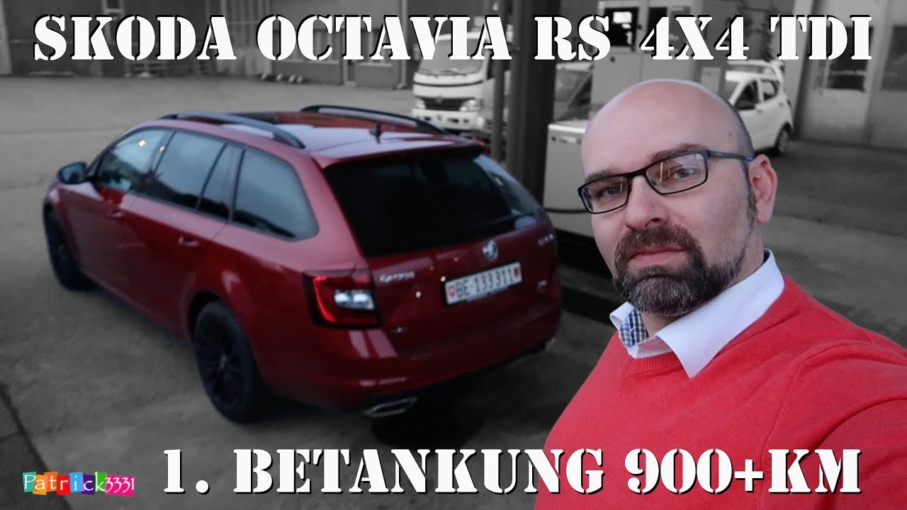 2018 Skoda Octavia Rs 4x4 Tdi Vlog No 2 Erste Betankung Uber