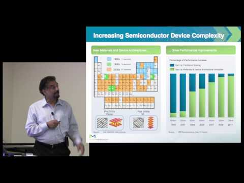 Dipu Pramanik (Intermolecular): role of materials in semiconductor roadmap: P1