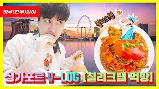 Gambar cover [ENG/JPN SUB] 싱가포르 V-LOG [칠리크랩 먹방]