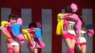 第3回山元町ふれあい産業祭2013 11/23みちのく仙台ORI☆姫隊ライブ(...