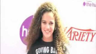 Madison Pettis at the 2010 Variety Power of Youth Event RED CARPET