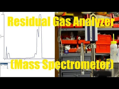 RGA Residual Gas Analyzer (Mass Spectrometer) Experiments and Helium Leak Checking