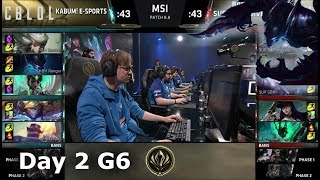 KaBuM e-Sports vs SuperMassive  Day 2 LoL MSI 2018 Play-In Group Stage  KBM vs SUP