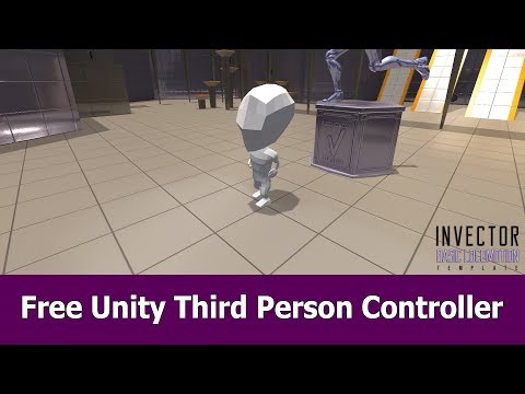 Free Unity Third Person Controller Asset