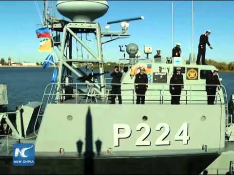 RAW: Iranian naval ships visit south Russian port