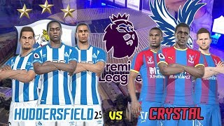 Huddersfield vs Crystal Palace - Premier League English 2018-19 | Full Match & PES Gameplays PC