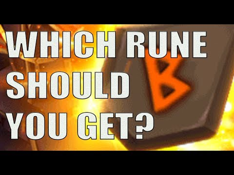 Choosing Which Rune To Buy (SW 4th Year Anniversary Event)