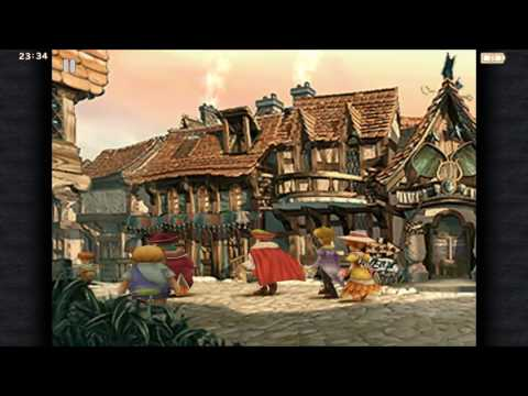 Final Fantasy IX First 50 minutes Gameplay Iphone 7 Plus iOS 10