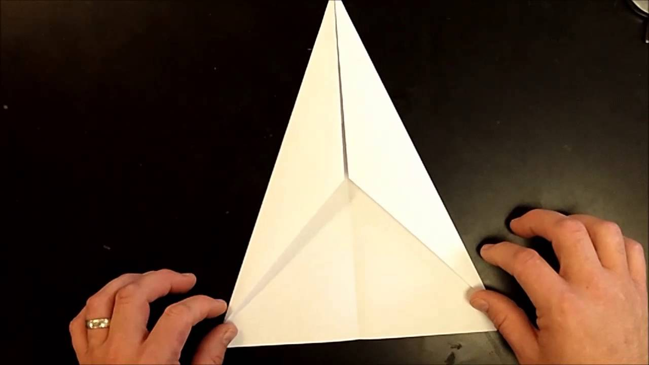 how to make a fast paper airplane youtube