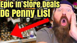 RUN NEW In Store & Online Hidden Clearance Dollar General Penny List