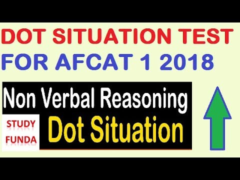AFCAT 1 2018  DOT SITUATION TEST