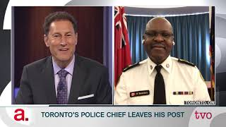 Mark Saunders: Toronto's Police Chief Leaves His Post