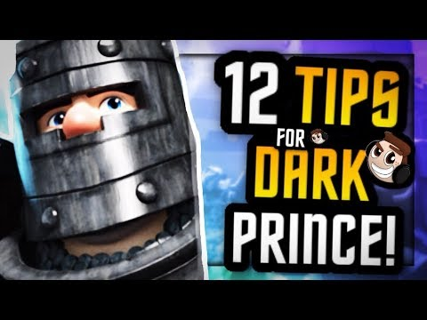 12 QUICK Tips to DOMINATE with DARK PRINCE | ErnieC3 Collab, pt. 1