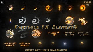 Particle FX Elements   After Effects template