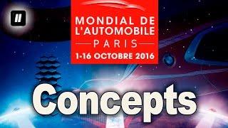 """Концепт-кары Paris motor show 2016. """"2 Лошадиные силы""""."""