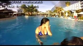 Swimming at JUMEIRAH HOTEL close to BURJ AL ARAB - DUBAI