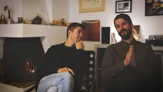 "Alex and Gabriel discuss the making of ""Glue Works"" by GOSTA BERLINGS SAGA"