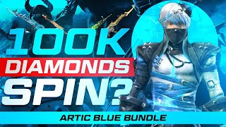 Free Fire Live 100,000 Diamond Spin? DJ Alok Need Crazy Bunny Mp40 Skin - Garena Free Fire