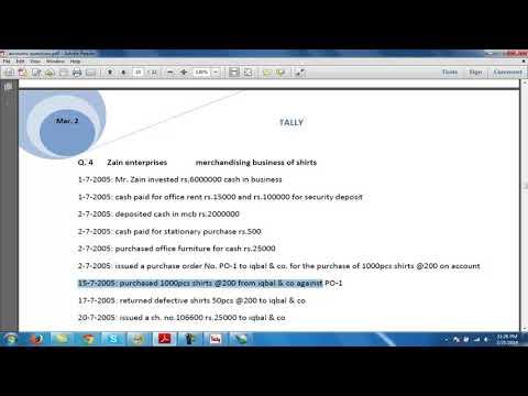 Tally Software Full tutorial Part 7 (In Urdu/Hindi) thumbnail