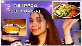 PIENI TERAPEUTTIHETKI + kaksi helppoa vegeruokaa // Saaran kokkishow!