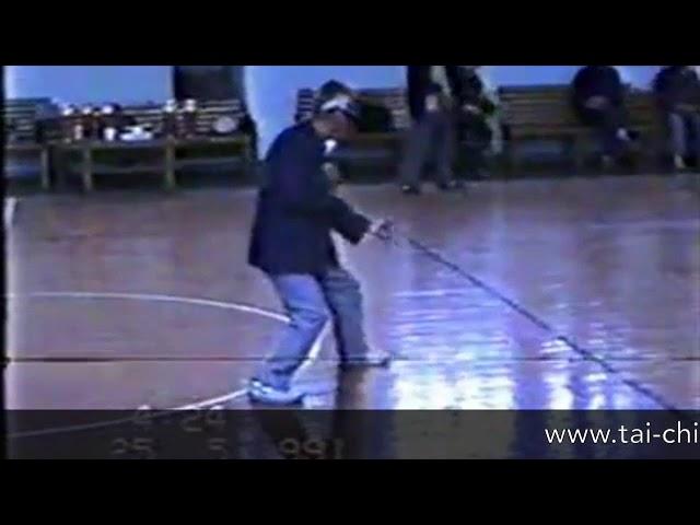 Meng Xian Bin - Tai Chi style Chen Xinjia Yilu 1991  [陈氏太极拳新架 Taijiquan style Chen]