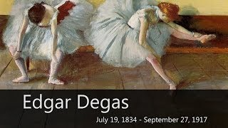 Degas Biography from Goodbye-Art Academy