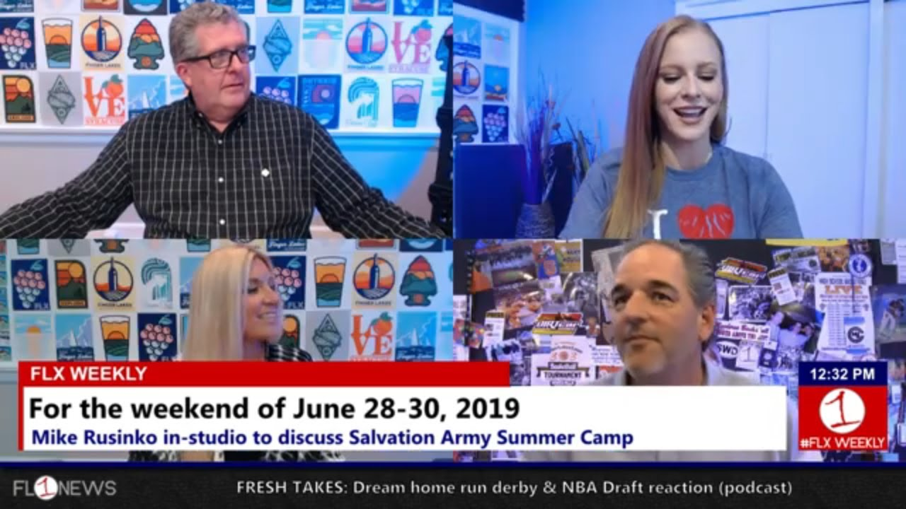 Mike Rusinko, Salvation Army Summer Camp & the last weekend of June .::. FLX Weekly w/ Jessica Lahr 6/26/19