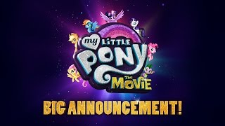 My Little Pony: The Movie (2017) BIG Announcement! – Emily Blunt, Sia, Zoe Saldana