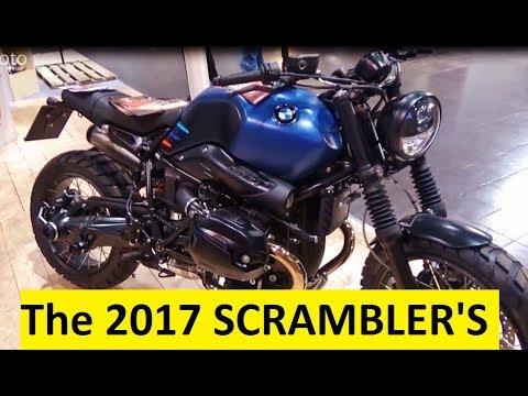 The 2017 SCRAMBLER Motorcycles