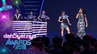 DAHSYATNYA AWARDS 2018 | Ayu Ting Ting Feat Osvaldorio,