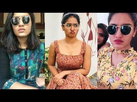 ക്വീൻ നായിക ചിന്നുവിന്റെ കിടിലൻ ഡബ്സ്മാഷ് | Saniya Iyappan Comedy Dubsmash
