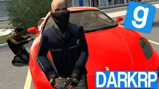 VOL VOITURES DE LUXE & BRAQUAGE ! - Garry's Mod DarkRP #10