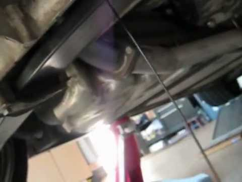 Corvette C5 differential fluid change Redline 75w-90 video by froggy